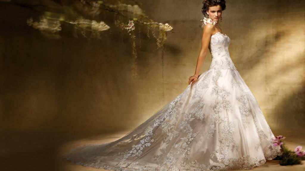 Фото красивые девушки в свадебных платьях