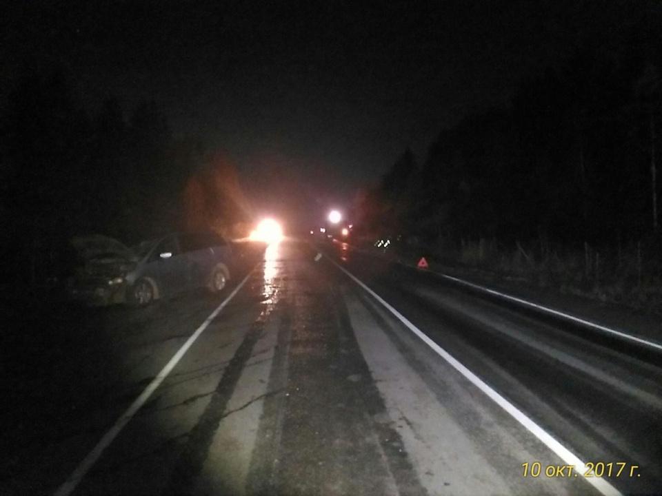 19-летний шофёр Митцубиси врезался вКамАЗ: погибла пассажирка иномарки