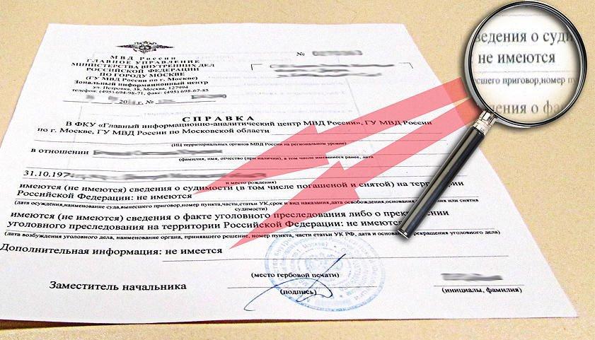 Как получить справку о наличии или отсутствии судимости в Кирове?