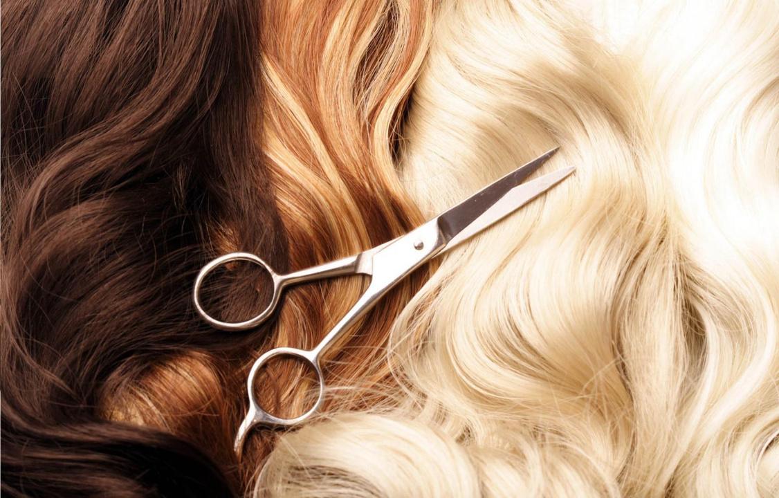 красивая картинка волос и ножниц называют пентаклем обычно
