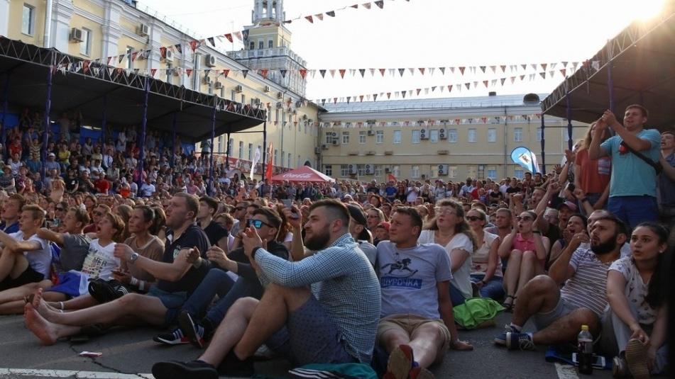 ВКирове кчетвертьфиналуЧМ могут открыть фан-зону