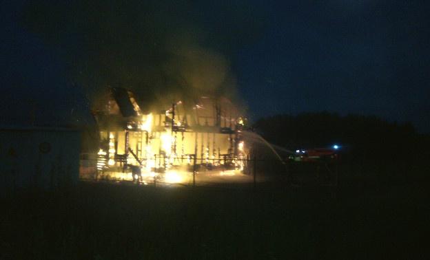ВКотельническом районе случилось два больших пожара
