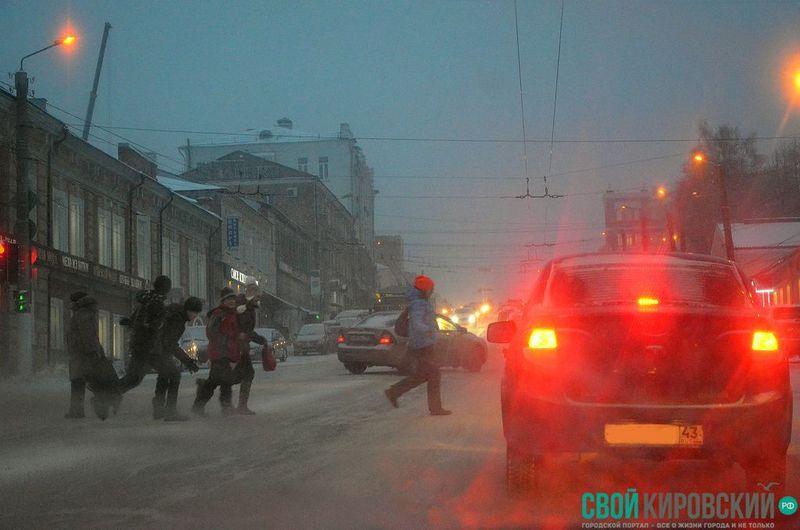 ВКирове объявлено метеопредупреждение 12+
