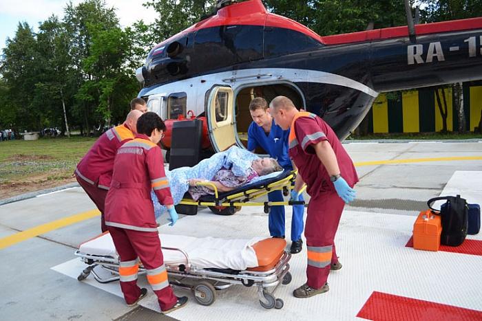 Работники санавиации засутки спасли 2-х пациентов вКировской области