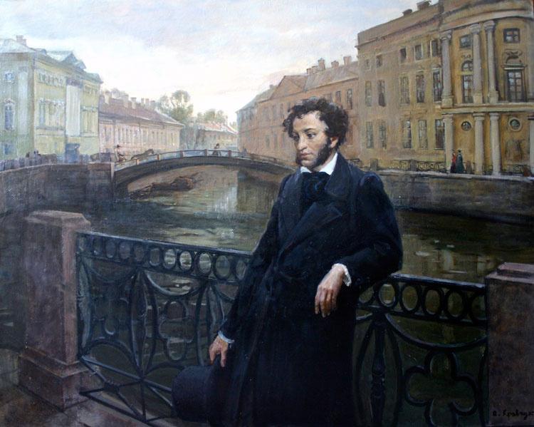 Пушкин остаётся наиболее популярным писателем для граждан России ирусскоязычных жителей зарубежья