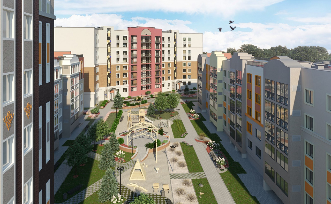 В жилом комплексе ZNAK стартовали продажи квартир в домах пятой очереди
