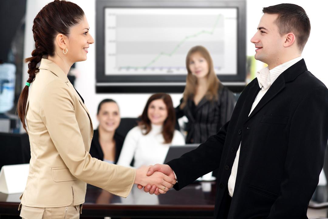 Мужчина и женщина деловые отношения