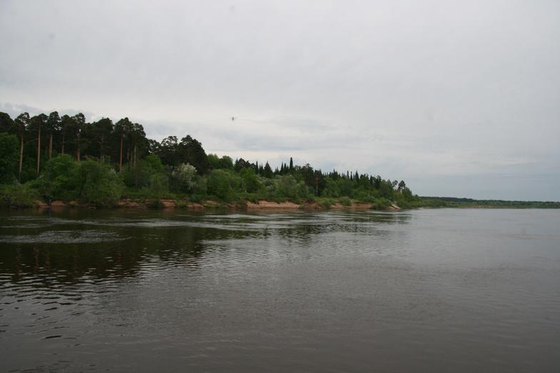 Серебряная река Вятка. Тогда и сейчас