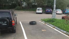 Куда писать на прикаркованную на тратуаре машину во дворе