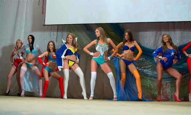 Конкурс красоты танец