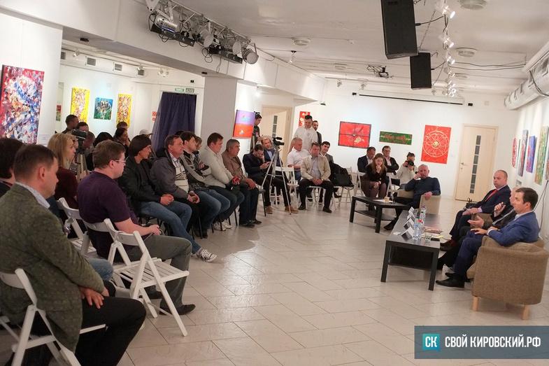 Дебаты с пустым креслом. О чём говорили кандидаты в губернаторы на предвыборной дискуссии в «Галерее Прогресса»