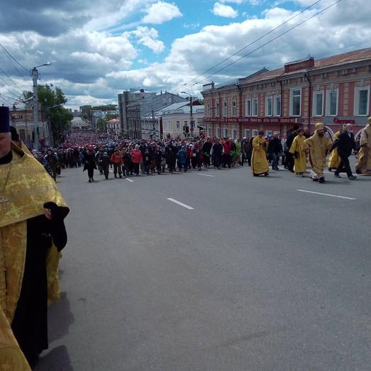 ВВеликорецком крестном ходе примет участие Патриарх Кирилл